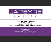Lapeyre Realty - tagged with cell