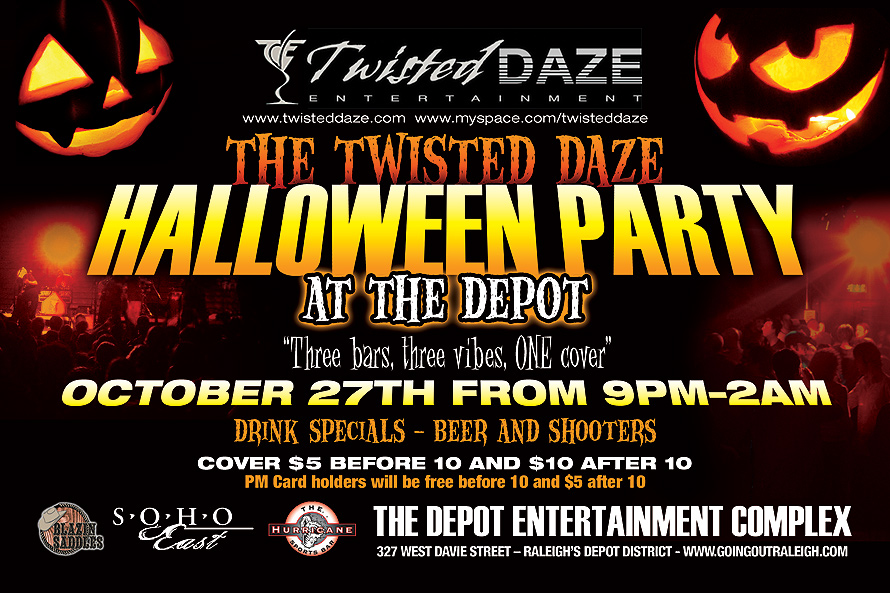 Twisted Daze Halloween Party