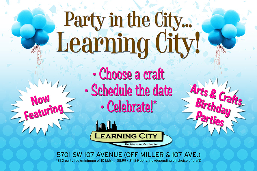Party in the City... Learning City!