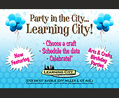 Party in the City... Learning City! - tagged with confetti