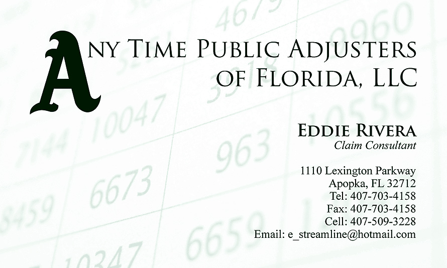 Any Time Public Adjusters of Florida, LLC