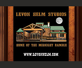 Levon Helm Studios - Music Graphic Designs