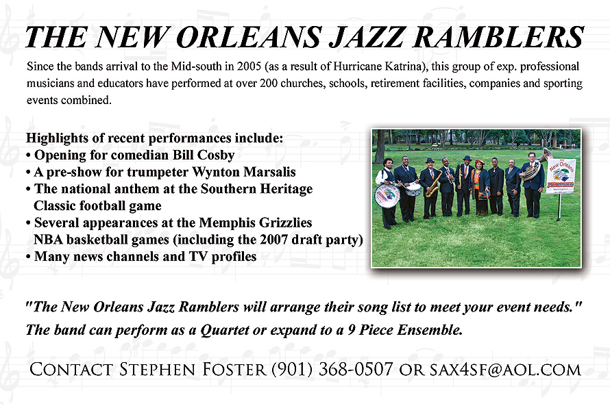 The New Orleans Jazz Ramblers