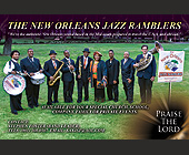 The New Orleans Jazz Ramblers - Tennessee Graphic Designs