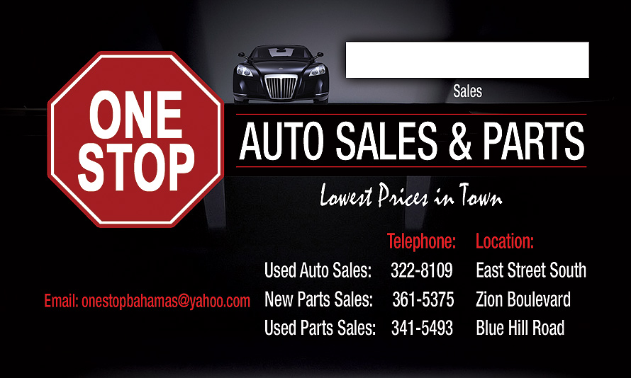 One Stop Auto Sales and Parts