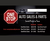 One Stop Auto Sales and Parts - tagged with luxury car