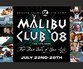 Malibu Club - Washington Graphic Designs