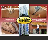 Pro-Max Concrete Restoration and Painting - created November 2007