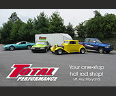 Total Performance, Your One-Stop Hot Rod Shop - created November 2007
