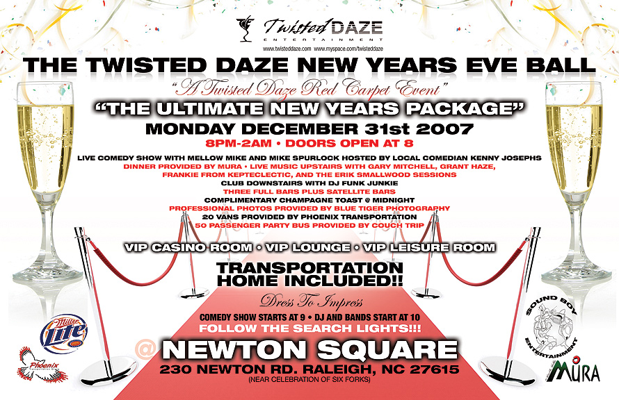 Twisted Daze New Years Eve Ball