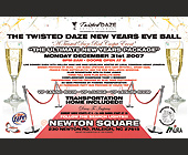 Twisted Daze New Years Eve Ball - tagged with midnight