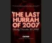 The Last Hurrah of 2007 - created December 2007