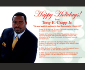 Happy Holidays from Tony E. Crapp Jr. - created December 2007