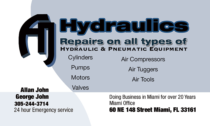 Hydraulics Repairs on all Types Hydraulics and Pneumatic Equipment