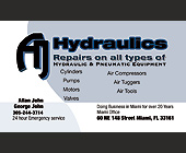 Hydraulics Repairs on all Types Hydraulics and Pneumatic Equipment - created December 2007