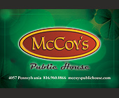 McCoy's Public House - 50.67 MB graphic design