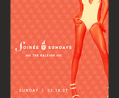 Soiree Sundays - tagged with tommy pooch and alan roth