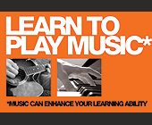 Learn to Play Music  - Music Graphic Designs
