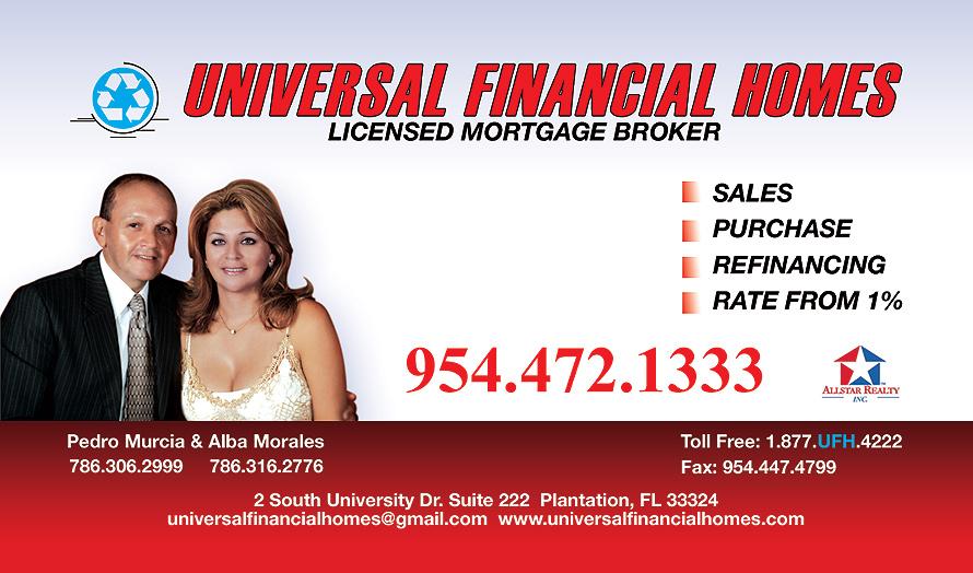 Universal Financial Homes
