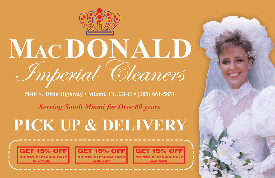 Mac DONALD Imperial Cleaners