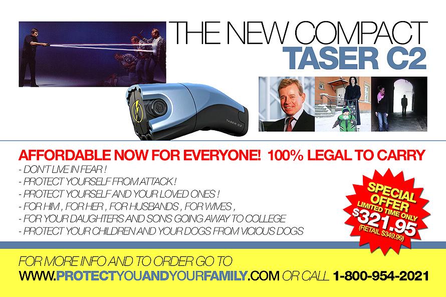 Compact C2 Taser