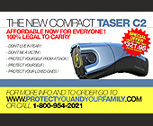 Compact C2 Taser - tagged with protectyouandyourfamily