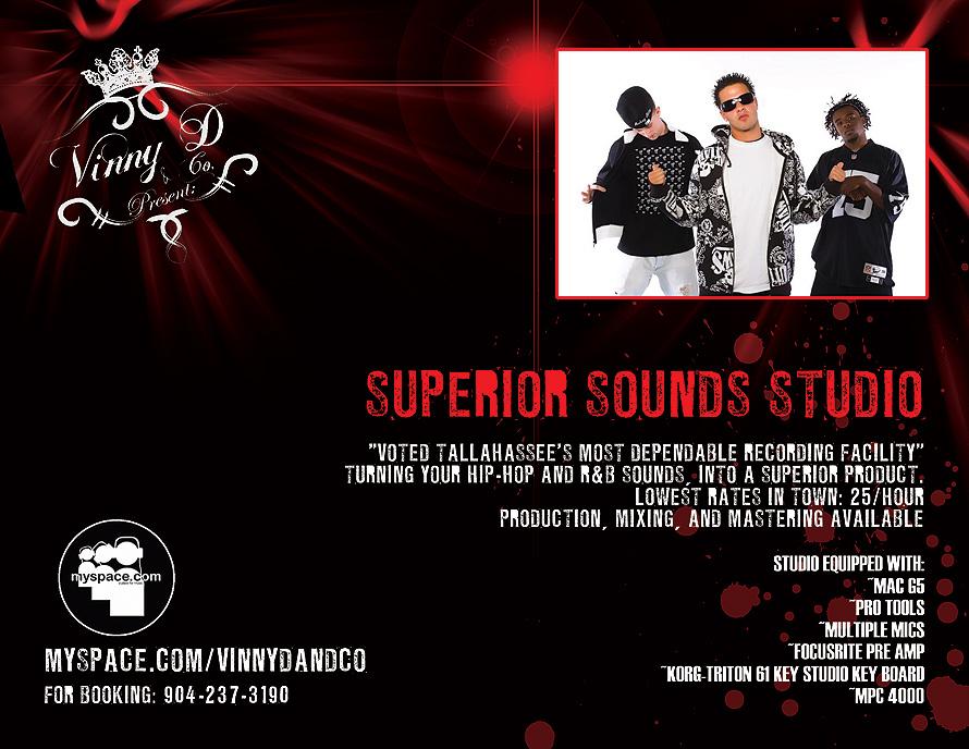 Vinny D and Co. Presents Superior Sounds Studio