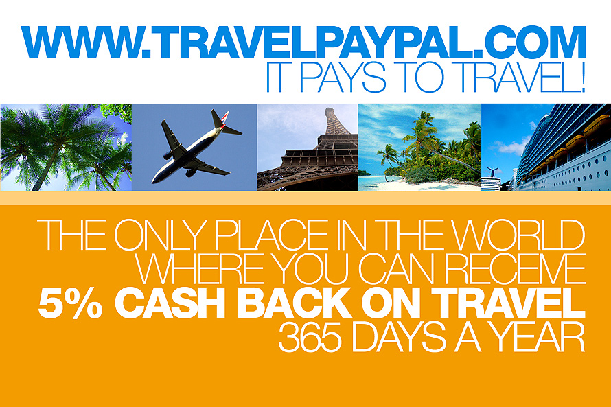 Travel Paypal It Pays to Travel