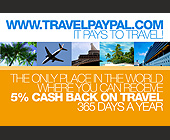 Travel Paypal It Pays to Travel - Travel and Lodging Graphic Designs