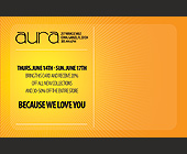 Aura Pre Summer Sale - 2.75x4.25 graphic design