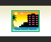 Team White Travel - tagged with vector art