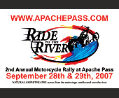 Apache Pass Ride to the River  - Events