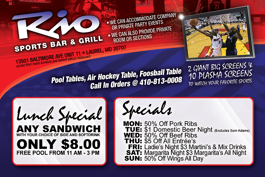 Rio Sports Bar and Grill