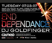 End Dependance - tagged with fireworks
