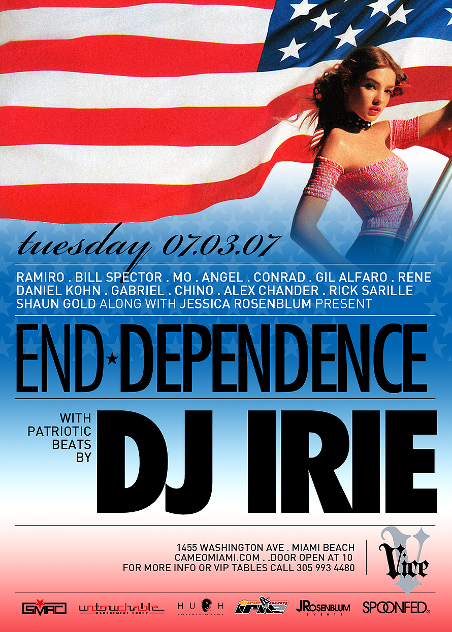 End Dependence DJ Irie