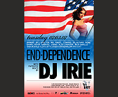 End Dependence DJ Irie - tagged with american flag