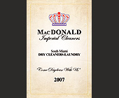 Mac Donald Imperial Cleaners - created June 2007