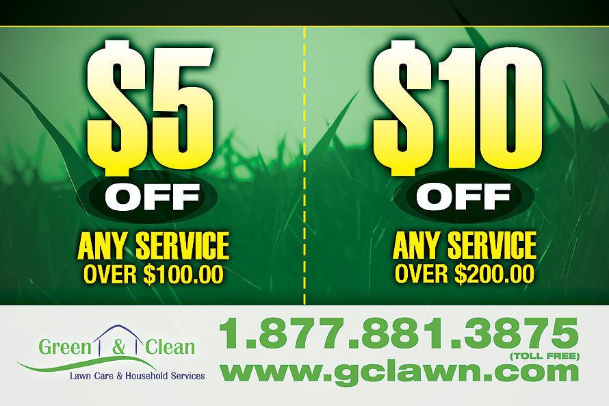 Green and Clean Lawn Care and Household Services