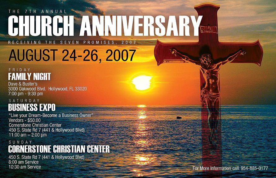 The 7th Annual Church Anniversary