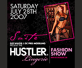 Hustler Fashion Show - 1500x1500 graphic design