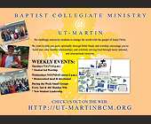 Baptist Collegiate Ministry - tagged with martin