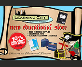 Learning City The Education Destination - tagged with vector art