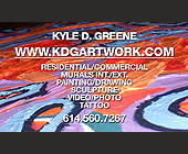 Kyle D. Greene  - Artists Graphic Designs