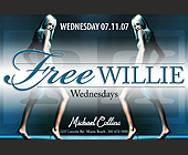 Free Willie Featuring DJ Willie  - Nightclub
