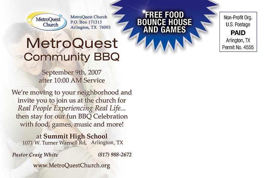 MetroQuest Church Community BBQ