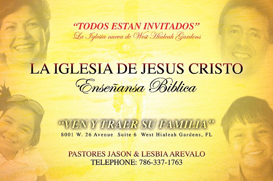 La Iglesia de Jesus Cristo