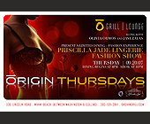 Grill Lounge Origin Thursdays - Bars Lounges