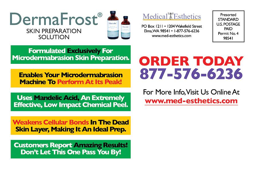 Medical Esthetics Dermafrost