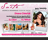 Exotica Swimwear Fashion Show - tagged with present the