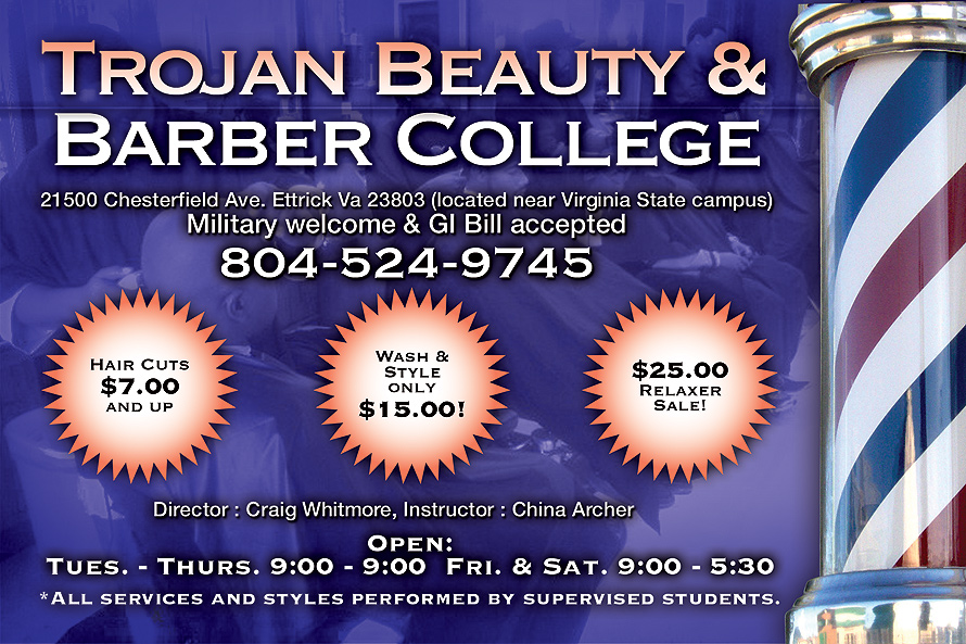 Trojan Beauty & Barber College